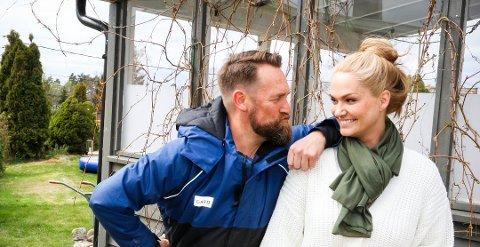 IKKE NOE UTBYTTE: Komikerfrue Marna Haugen og ektemannen Ørjan Burøe tok ikke ut noe i utbytte fra familieselskapet i 2019 og lønnen ble mer enn halvert fra året før.