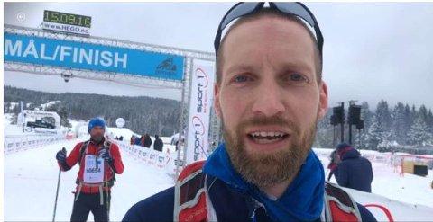 RÅTASS: Eirik Totland Pettersen fra Årnes.