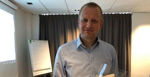 TAR OVER: Tomas Holmestad er ny styreleder i Birken.