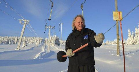 UTESTENGT: Ola Bolstad håper å få komme tilbake til jobben på norsk side av grensa i god tid før vinterferien.