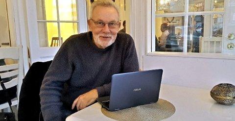 Engasjert politiker: Steinar Gullvåg er blant annet opptatt av eldre og ensomhet. Foto: Sven Otto Rømcke
