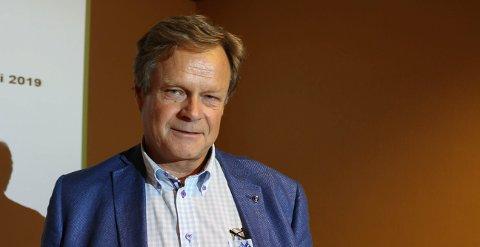CO2: Per Brevik er bærekraft direktør i Heidelberg Cement.