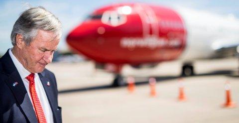 Norwegian-sjef Bjørn Kjos har advart mot alvorlige konsekvenser dersom flyselskapet skulle tape saken om selskapsstruktur i Høyesterett.