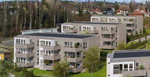 Skreddersyr for førstegangskjøpere: 15 av de 27 leilighetene som Mako-Invest as planlegger i Nygård Park kan selges til førstegangsetablerere. Byggestart blir når 50 prosent av leilighetene er solgt.