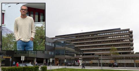 LANG REISEVEG: Kvinner i Sogn må enten hit til Førde sentralsjukehus eller Voss sjukehus for å gå til gynekolog. - Eg skulle gjerne ønska at det var fleire gynekologar her i området, men eg trur ikkje det skjer med det fyrste, seier Bjarte Hove, fastlege i Årdal (innfelt).
