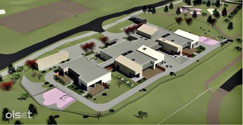 Bygget på Dale vil blant annet bestå av åtte avlastningsplasser og to barneboliger, en kriseavlastningsdel, egne rom for dagavlastning og administrasjonsfløy med kontorer og møterom.