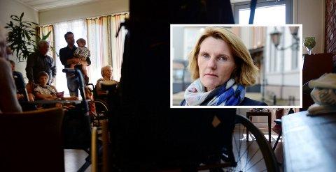 AKTUELT TEMA: Tønsberg kommune skal bygge nytt sykehjem, men det er uenighet om antall plasser dekker behovet.
