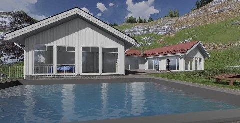 Innholdsrik: Luksuseiendommen på Narestø blir innholdsrik og stor.
