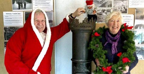 Nesoddvinter: I år byr Harald Lorentzen og Gunhild Skatteboe på vinter på Nesodden i gamle dager, med bilder fra hele halvøya. Foto: ATF