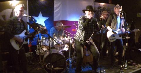 Her er bandet Texas Radio fra en tidligere konsert.