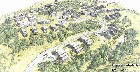 Gigantprosjektet Kolstad, Klommestein skog og Odalen vil kunne gi 850 nye boliger i Frogn.