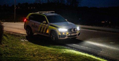 POLITI: Politiet søkte etter en bil som stakk av fra kontroll onsdag.