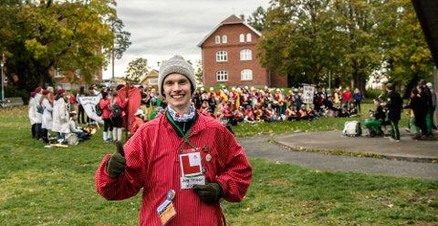 MED PÅ MOROA: Eivind Bækken Toft studerer Vann- og miljøteknikk ved NMBU.