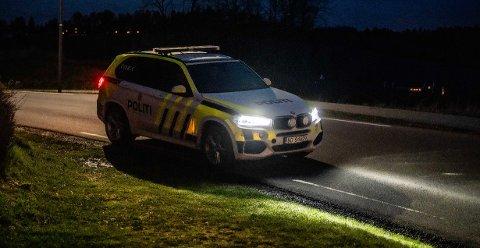 RYKKET UT: Politiet måtte ta seg av russebråk natt til onsdag.
