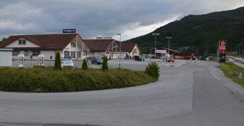 Einset på Aspøya fra ingenting til  mangt og mye, etter  E39 og fastlandsforbindelsen i forbindelse med Krifast.