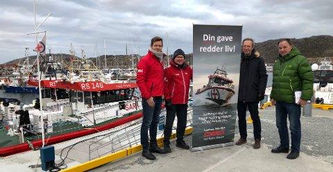 """Ny redningsskøyte: Sommeren 2019 skal den påbegynte redningsskøyta """"Odd Fellow III"""" stasjoneres i Bodø. Skøyta blir finansiert med over 25 millioner av Odd Fellow ordenen gjennom deres landssak."""