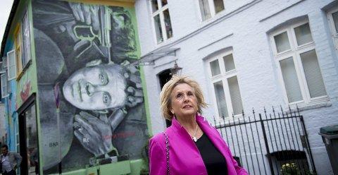 ETTERTENKSOM: Trude Drevland sier hun er blitt mer ettertenksom etter skandalene. Nå ser hun til å kjempe for fire nye år som ordfører i Bergen. FOTO: VIDAR LANGELAND