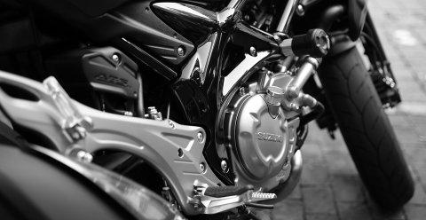 PÅ TO HJUL: I Øvre Eiker kommune er det registrert 1.734 tunge og lette motorsykler, samt mopeder. Det gir 89,3 tohjulinger per tusen innbyggere, mens normalen i Norge er knapt 67 per tusen.