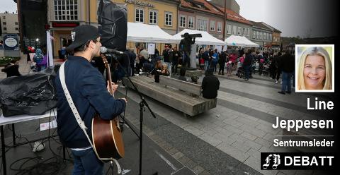 Bylørdag i Fredrikstad er ett av flere arrangement som samler mye folk i sentrum gjennom et år.