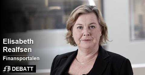 Sjekk om du allerede betaler så høy rente på lånet at du ikke bør godta at banken setter den opp, er oppfordringen fra Elisabeth Realfsen.