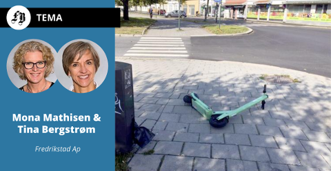 Brevforfatterne etterlyser regler som kan sikre at elsparkesyklene blir til glede og ikke til besvær for dem som ferdes i sentrum.