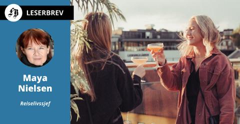 – Å samle folk rundt bordet, i salen og ved baren har vært vårt liv. Nå er det våre gjesters største trussel, skriver Maya Nielsen.