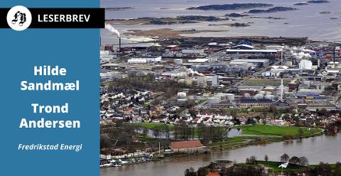 Toppduoen i Fredrikstad Energi har store visjoner om å elektrifisere både produksjonen og varetransporten på Øra.