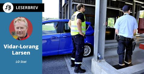 Politiet blant de statlige instansene  som blir rammet av innstramning som Høyre står bak, ifølge brevforfatteren.