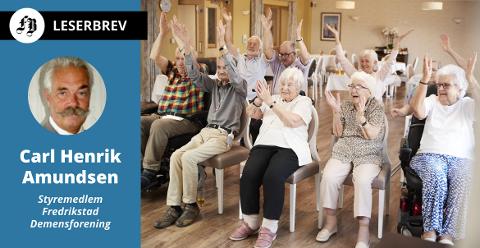 Friske eldre lever lenger. Det gjør noe med antall demente i årene fremover.
