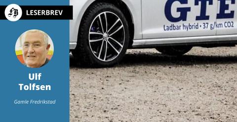 Med lavere vekt enn elbilen og mulighet til å kjøre på «bio fuel» mener Tolfsen at ladbar hybridbil scorer best på miljøvennlighet.