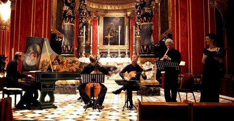 BAROKKTONER: Søndag blir det barokktoner i Mariakirken på Granavollen.