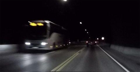 FÅR SNITTMÅLING: Det vil bli snittmålinger av farten i Bømlafjordtunnelen etterhvert.