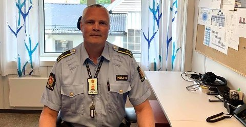 STOPPET UNGE FØRERE: Ørjan Munkvold sier ungdommene fikk en formaning av politiet, da det ikke ble foretatt fartsmåling på stedet.