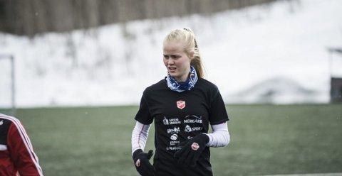 Katrine Winnem Jørgensen og resten av Medkila berget plassen i Toppserien. Arkivfoto: Robin Bergfald.