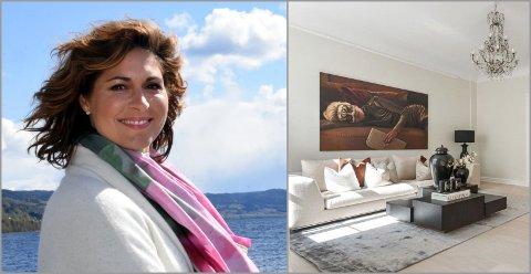 SOLGT: Sissel Kyrkjebø og ektemannen Ernst Ravnaas har ifølge Finansavisen tjent mye på salget av leiligheten i Oslo.