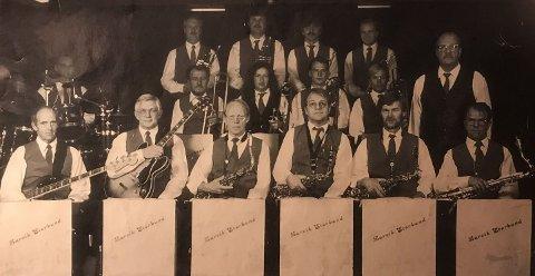 HISTORIE: Larvik Storband har alltid vært staute musikere med tidsriktig stil.