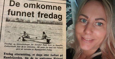 HAR FÅTT SVAR: Linn Trondsen etterlyste informasjon om omstendigheten rundt ulykken der hun mistet sin far i 1989. Nå har hun fått flere svar.