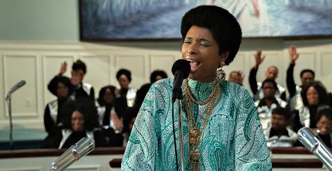 """RESPECT: Oscar-vinner Jennifer Hudson, spiller Aretha Franklin i """"Respect"""", hvor vi følger karrieren til Franklin fra hun er barn og synger i farens kirkekor til internasjonal stjernestatus."""