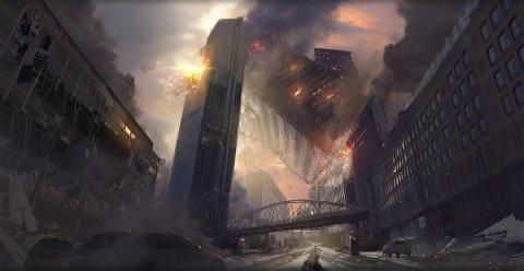 Jordskjelv i hovedstaden: I august har katastrofefilmen «Skjelvet» premiere på norske kinoer. Dette er oppfølgeren til «Bølgen» som kom i 2015. foto: Nordisk Film distribusjon AS