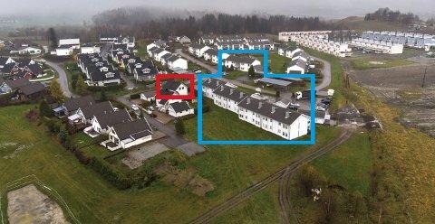 DELES I TO: 22 boliger på Holt Vestvollen foreslås kjøpt opp av kommunen. ALLE FOTO: VIDAR SANDNES