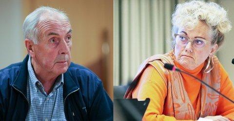 ENIGE: Både Stanley Wirak (Ap) og rådmann Bodil Sivertsen, er enige om at forslaget til fordeling lyder fornuftig.