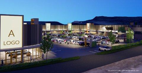 NY HANDELSPARK: Selskapet AKA ønsker å utvikle Grenland Handelspark på Kjørbekk.
