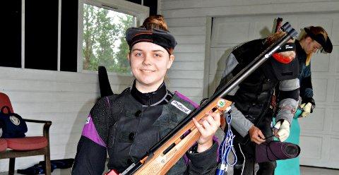Karen Snekvik var best i Halsastevnet. 347 poeng er ny personlig rekord. Foto: Nils Halse