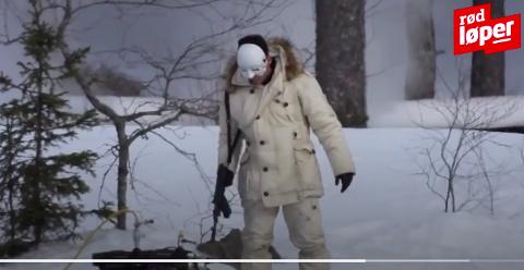 Skjermdump fra videoen som er publisert på Dagbladet.no