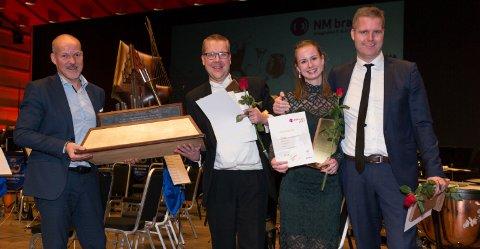 Eikanger-Bjørsvik Musikklag, som vant elitedivisjon i fjor, kom heilt til topps også i år.