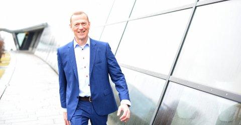 Ove Fredheim, leder for Telenors bedriftsdivisjon, ser frem til å kunne tilby norske sykehus mobile løsninger.