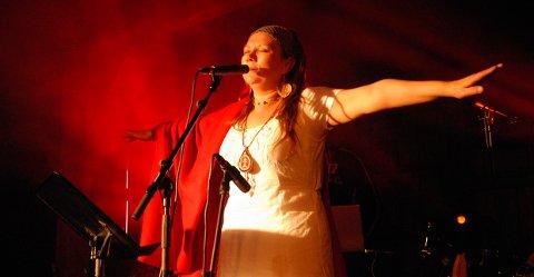 Stolt dame: Mari Boine blir det største navnet på konserten.