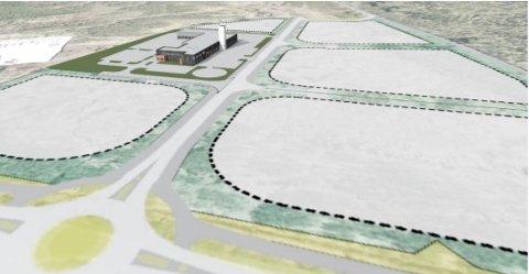 Det vil, etter utbygging av Blålysbygget, være 5 ledige næringstomter i et svært attraktivt næringsområde med meget strategisk plassering.