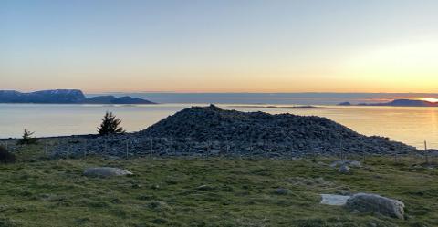 EIN MERKEDAG: 30. mai kjem storfint besøk når den nye kulturminneløypa i bronsealderlandskapet i Botnane og Årebrot skal offisielt opnast.