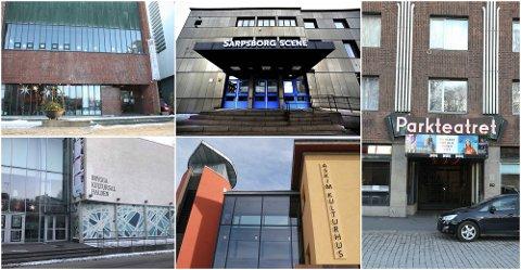Rundt 500: De fem kulturhusene vi har tatt for oss i denne saken har kapasitet til mellom 450 og 550 sittende publikummere.